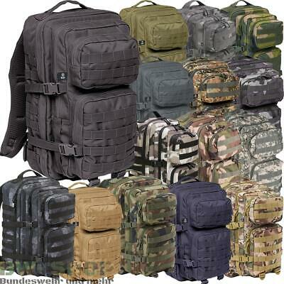 Us Assault Pack Rucksack Medium 30L & Large 50L Armee Outdoor Tasche Bw Cooper