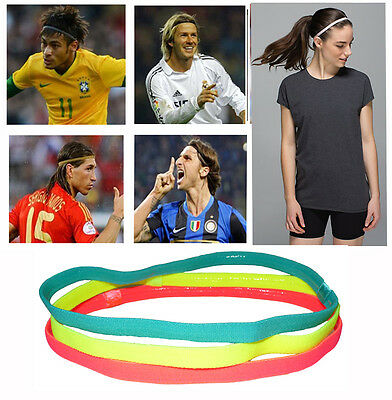 Headband Sweatbands Sweat Band for Gym Sport Tennis Badminton Yoga Soccer UniSex