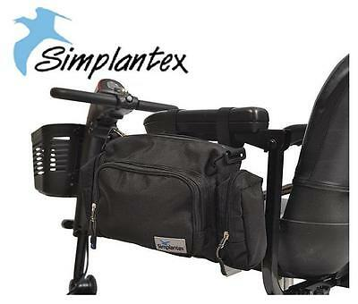 Simplantex Multipurpose Security Bag Wheelchair Scooter Safety Carry Purse Aid