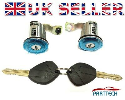 CITROEN XSARA COMPLETE DOOR LOCK SET + 2 KEYS FRONT RIGHT and LEFT OSF - NSF