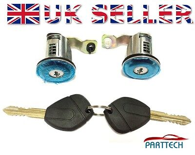 CITROEN XSARA PICASSO COMPLETE DOOR LOCK SET + 2 KEYS FRONT RIGHT and LEFT