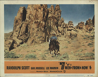 Seven Men from Now 1956 Original Movie Poster Western