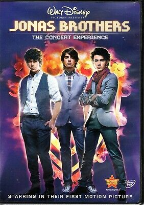 Jonas Brothers: The Concert Experience  DVD Brand New Factory Original.