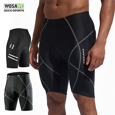 New Men's Bike Bicycle Cycling Shorts 3D Padded Riding Half Pants Size S-3XL