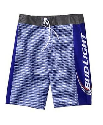 d6ad819d08 BUD LIGHT Beer Board SHORTS Swim Trunks Mens size S M L XL Surf party NEW  TEXTUR