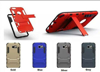 Heavy Duty Hard Shockproof Rugged Silm Armour Tough Hybrid Case With Stand