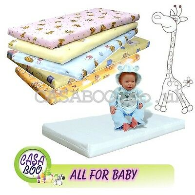 MATTRESS for BABY COT /COT BED 120x60cm or 140x70 cm FOAM / COCONUT/ BUCKWHEAT