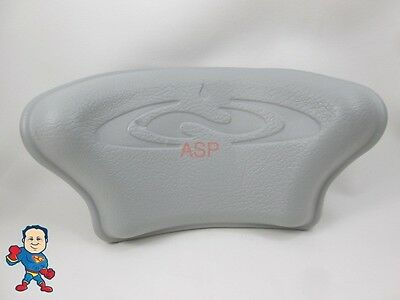 Dimension One D-1 D1 Spa Hot Tub Neck Pillow Gray Head Rest How To Video