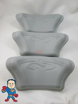 3X Dimension One D-1 D1 Spa Hot Tub Neck Pillow Gray Head Rest How To Video
