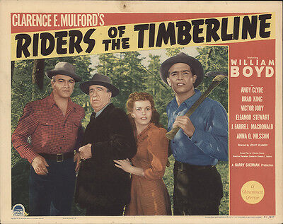 Riders of the Timberline 1941 Original Movie Poster Action Adventure Western