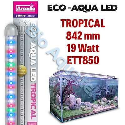 Arcadia Eco Aqua LED Aquarium Lamp / Strip Light - Tropical 842mm 19w ETT850