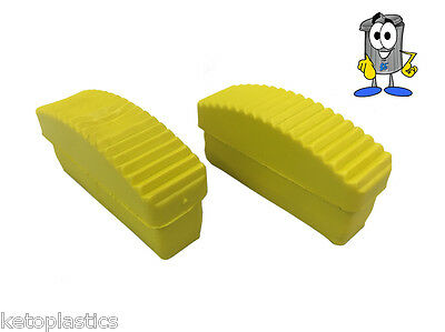 PAIR OF 84mm x 22mm REPLACEMENT LADDER / STEP LADDER FEET