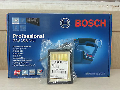 BOSCH GAS 10.8V Vacuum Cleaner [Bare Tool Solo Ver.] w/ Micro Filter Replacement