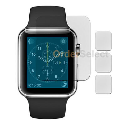 3X Anti-Scratch Clear LCD Screen Protector for Apple iWatch Watch 1st Gen 42mm