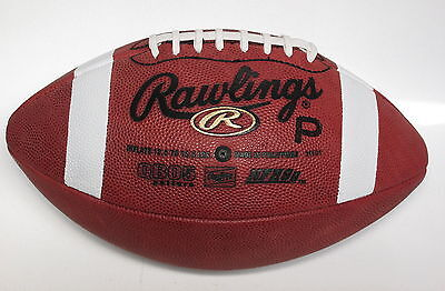 RAWLINGS PRO5P Official Leather Football QB05 pattern 50% OFF!! FREE SHIP to U.S