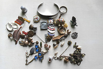 JEWLERY PARTS & PIECES for CRAFTS JEWELRY REPAIR - Many Pieces