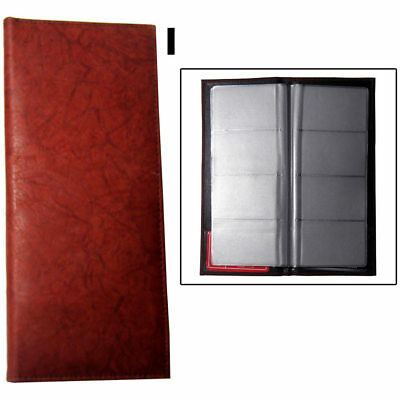 Genuine Leather Business Card Holder Book Organizer 160 Burg Office Executives