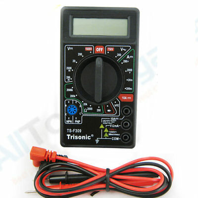 Portable Digital Multimeter Lcd AC DC Voltage Electronic Meter Tester Voltmeter