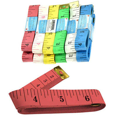 "1 New 60"" 150cm Soft Fabric Cloth Tape Measure Ruler Dual Sided SAE Metric Diet"