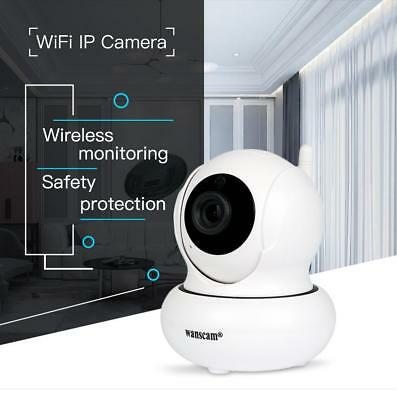 Hw0021 Ip Camera H.264 720P Hd Cmos Wifi Alarm Indoor P2P Cam Tf Card Support