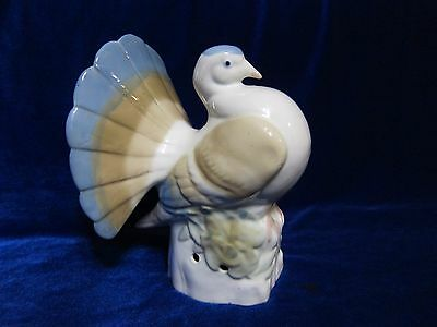 Vintage USSR Porcelain Figurine big dove soviet 1960s russian antique 2