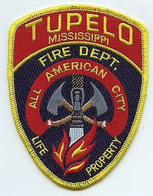 TUPELO MISSISSIPPI MS All American City FIRE PATCH