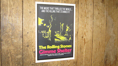 The Rolling Stones Gimme Shelter Repro POSTER