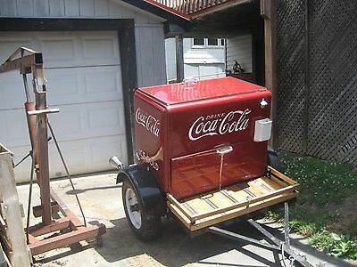 Coke Box Trailer