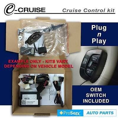 Cruise Control Kit Nissan Patrol UTE 3.0 CRDi 2008-onwards (With D-Shaped contro
