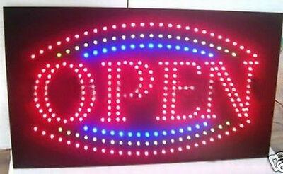 Brand New Large Commercial Flashing Led Display Open Sign 55 X 33