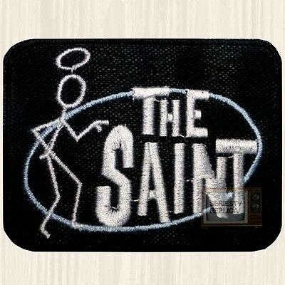 The Saint Logo Patch TV Series Roger Moore Simon Templar 007 Embroidered