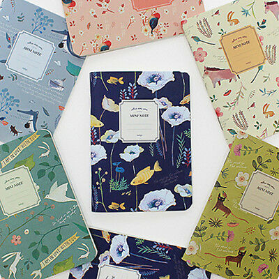 1x Mini Willow Story Ruled Lined Notebook Notepad Memo pad Gilrs Cute Stationery