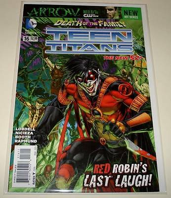 TEEN TITANS # 16  DC Comic  March 2013 VFN/NM   The New 52!   Red Robin