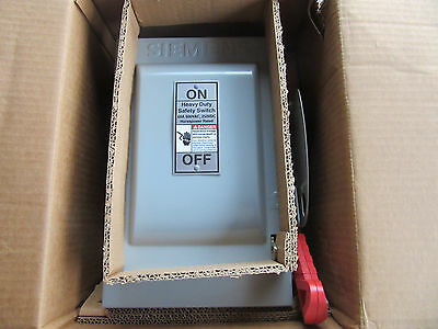 Square D HNF362H Heavy Duty Safety Switch 3P 60A 600V Non-Fused NEW!!! in Box