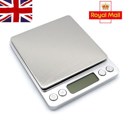 0.01G-500 Grams Electronic Pocket Mini Digital Gold Jewellery Weighing Scales UK