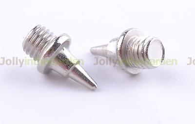 100 x Athletic Running Shoes Spikes Track Needle Tartan Pyramid Screw-In 7mm