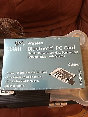 Brand New Sealed 3Com 3Crwb6096B Bluetooth Pc Card For Toughbook Or Laptop
