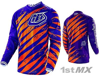Troy Lee Designs TLD GP Air Vert Purple Orange Motocross Race Jersey Adult Small