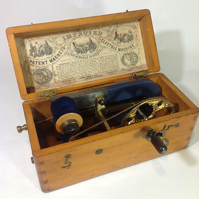 Antique Medical ELECTRIC SHOCK MACHINE
