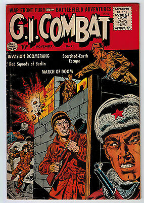G.i. Combat #42 4.0 Quality Comic Off-White Pages Silver Age