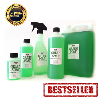 MTS GREEN SOAP for TATTOO - Cleaning & Hygiene - Studio Supplies - 0.5L 1L 5L