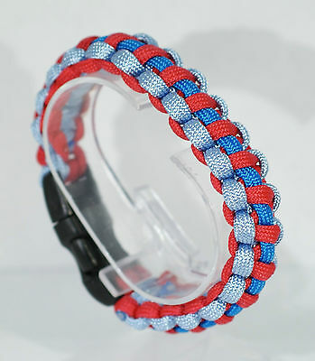 Help for Heroes handmade wristband paracord bracelet watch All profits donated