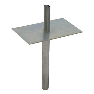Eagle Telescoping Mast Ground Mount Base Plate Antenna Heavy Duty Galvanized