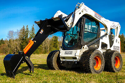 Skid Steer Backhoe - Backhoe for Bobcat and More - Eterra E60 Backhoe
