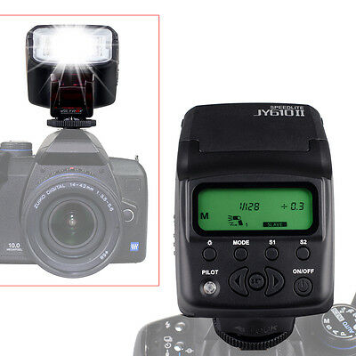 Viltrox JY610 II Flash Strobe Light Speedlite for DSLR SLR Camera Canon Nikon