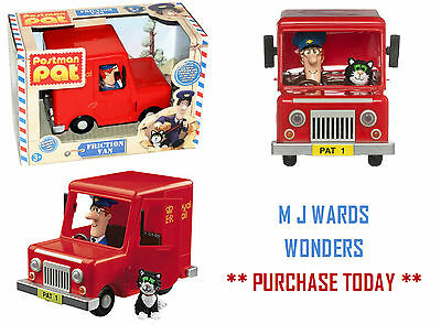 Postman Pat Van Friction Vehicle Toy with Pat Figure & Jess Cat ** GREAT GIFT **