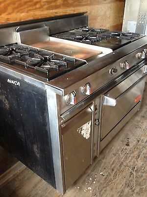 Commercial Dynasty Gas Stove