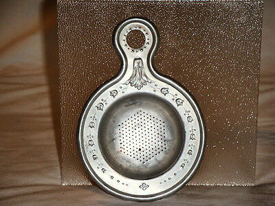Vintage Aluminum Tea Strainer Kitchen Utensil