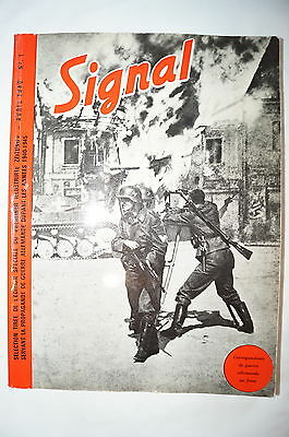 WW2 French Signal Propaganda in France Reference Book