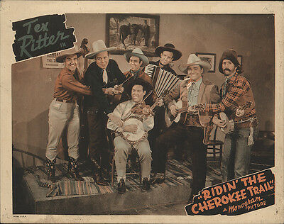 Ridin' the Cherokee Trail 1941 Original Movie Poster Action Adventure
